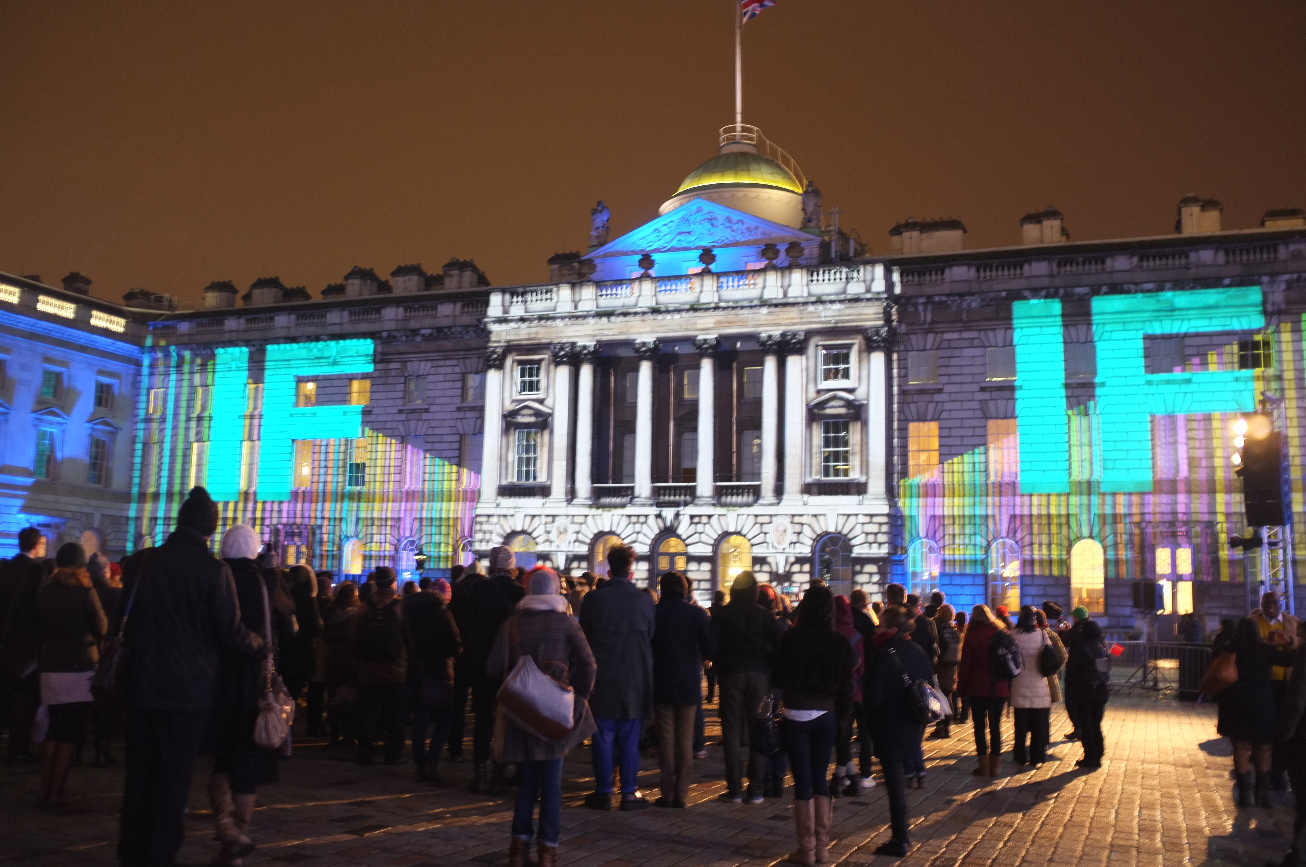 IF somerset house projection