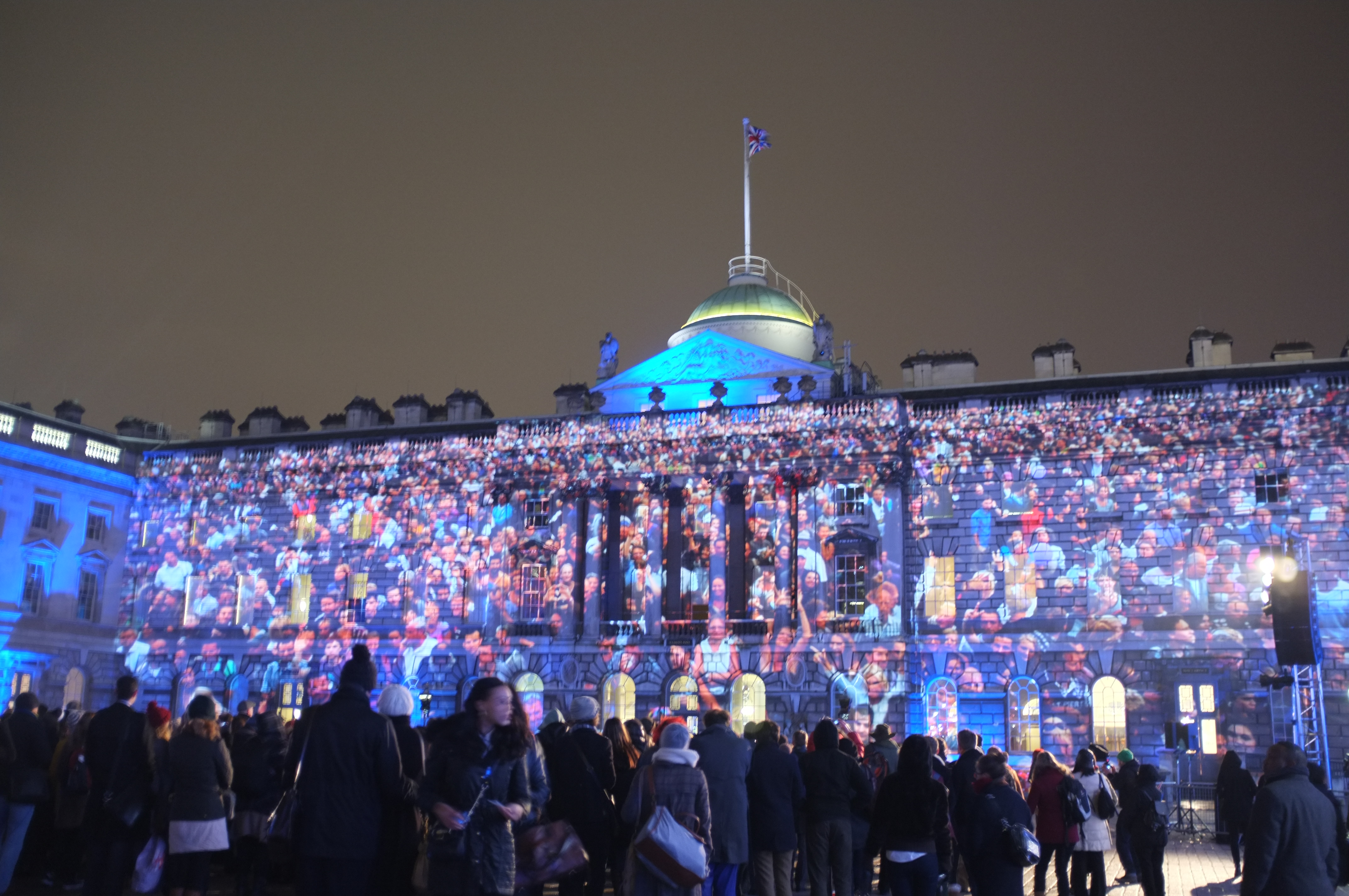 somerset house people projection