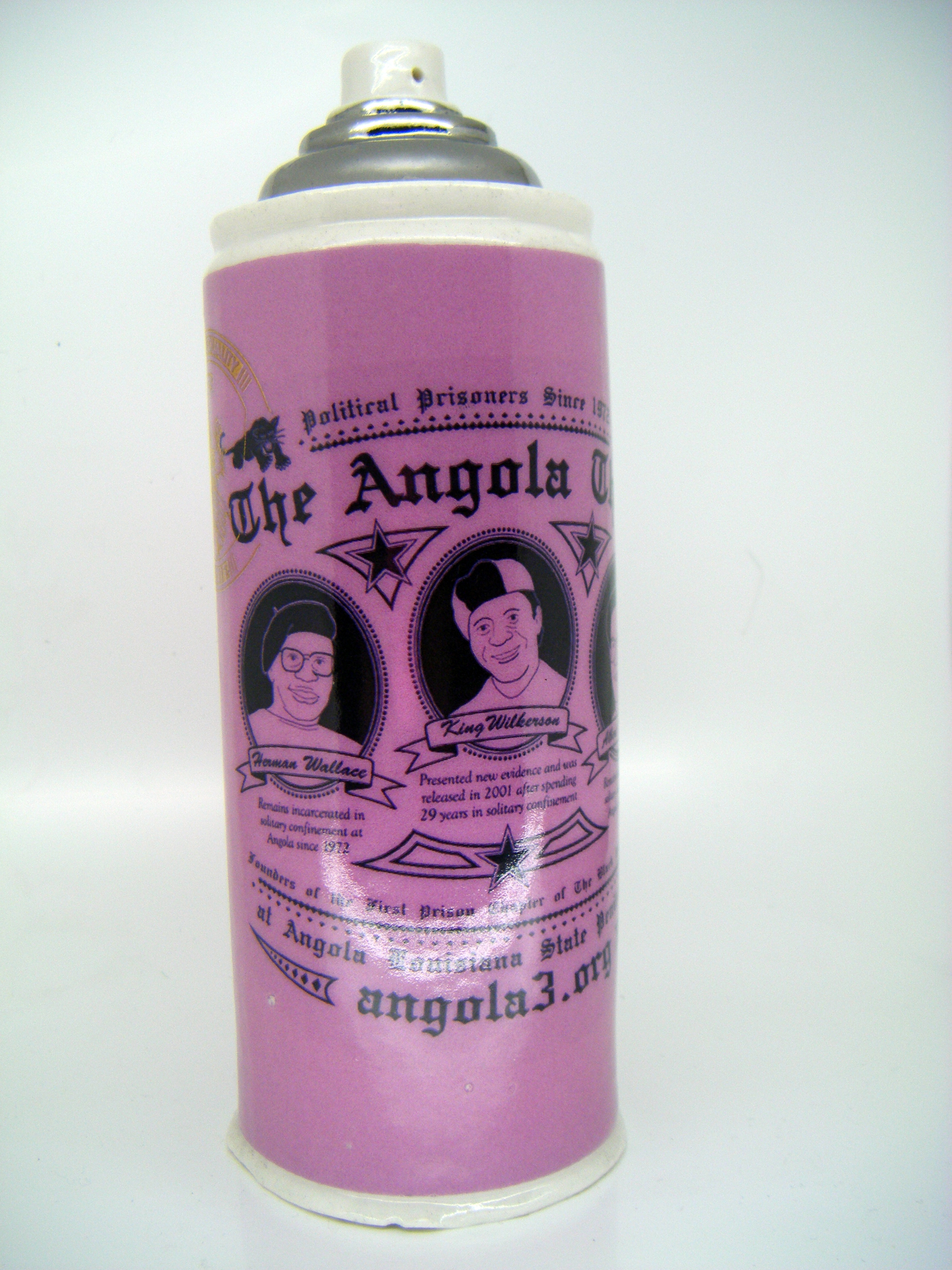 To illustrate the Angola 3