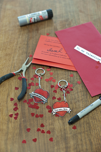 All you need to make your Tatty Devine designed keyring
