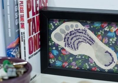Craftivist Footprint project
