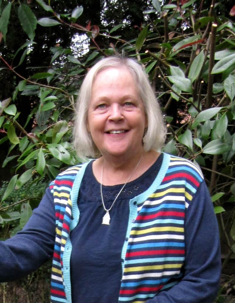 Craftivist Anne Clark
