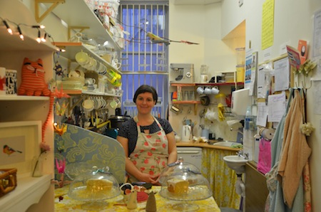 Cushion & Cake shop & workshop venue owner: Pamela Clocherty. All images by Laura Polson