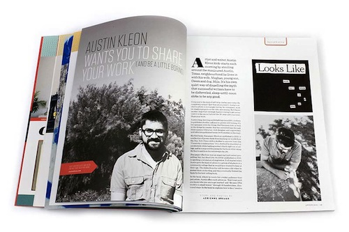 Indepth interview with the inspiring Austin Kleon, author of Steal Like an Artist and other books
