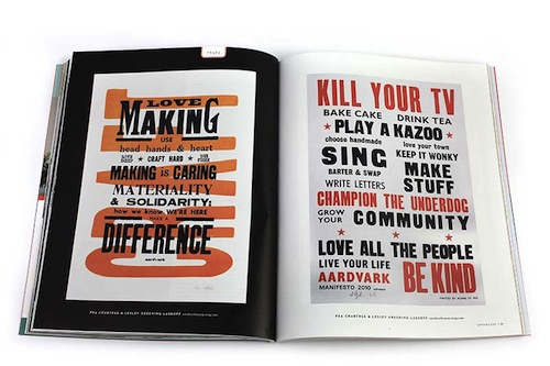 A series of Manifesto Posters on their trend section