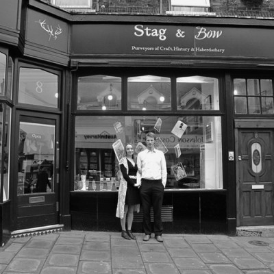 The beautiful Stag & Bow shop in Forest Hill, London. Come join us in this independent shop for an intimate workshop for 10 people :)