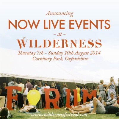 NOW Live Events at Wilderness. Image by www.wildernessfestival.com