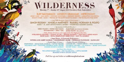Wilderness Line Up. Source: Www.wildernessfestival.com