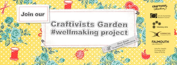 join our new project Craftivists Garden