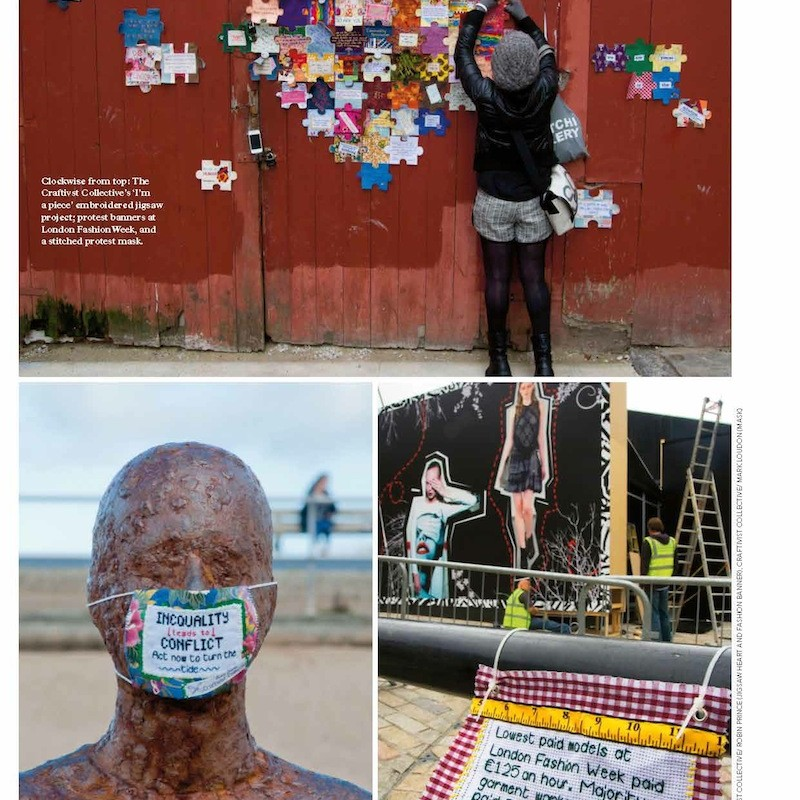All images for this article in Mollie Makes are ours-  we are honoured that they chose them. What do you think?
