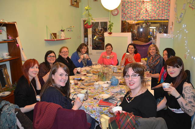 Craftivism workshop in Glasgow March 2014