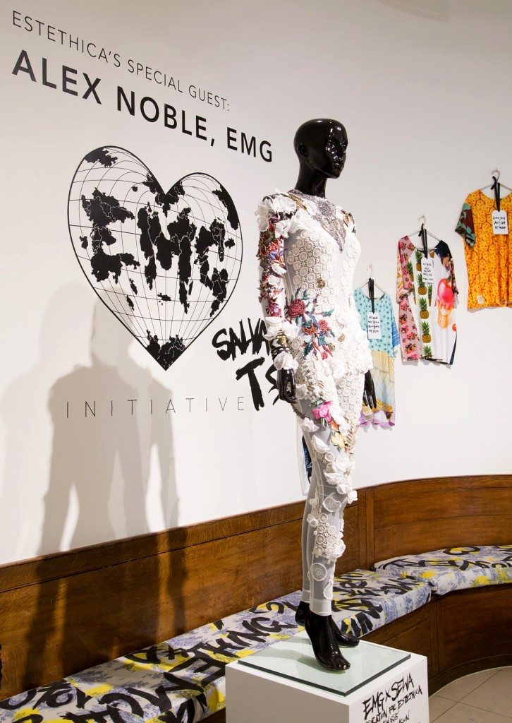 EMG Esthetica Designer Showroom, London Fashion Week