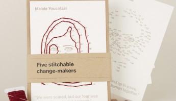 Letterpress kit of 5
