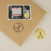 All orders come with two free stickers  in ethical card package
