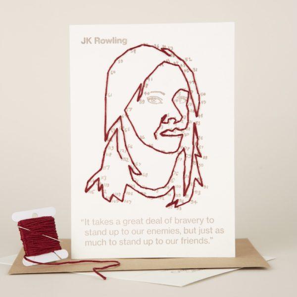 JK Rowling portrait