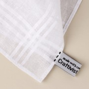 Craftivist Collective label on your hanky