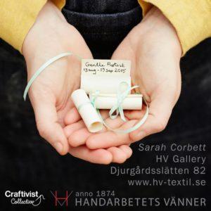 'Gentle Protest' exhibition by Sarah Corbett, Stockholm @ Föreningen Handarbetets Vänner / Friends Of Handicraft  | Stockholm | Stockholms län | Sweden