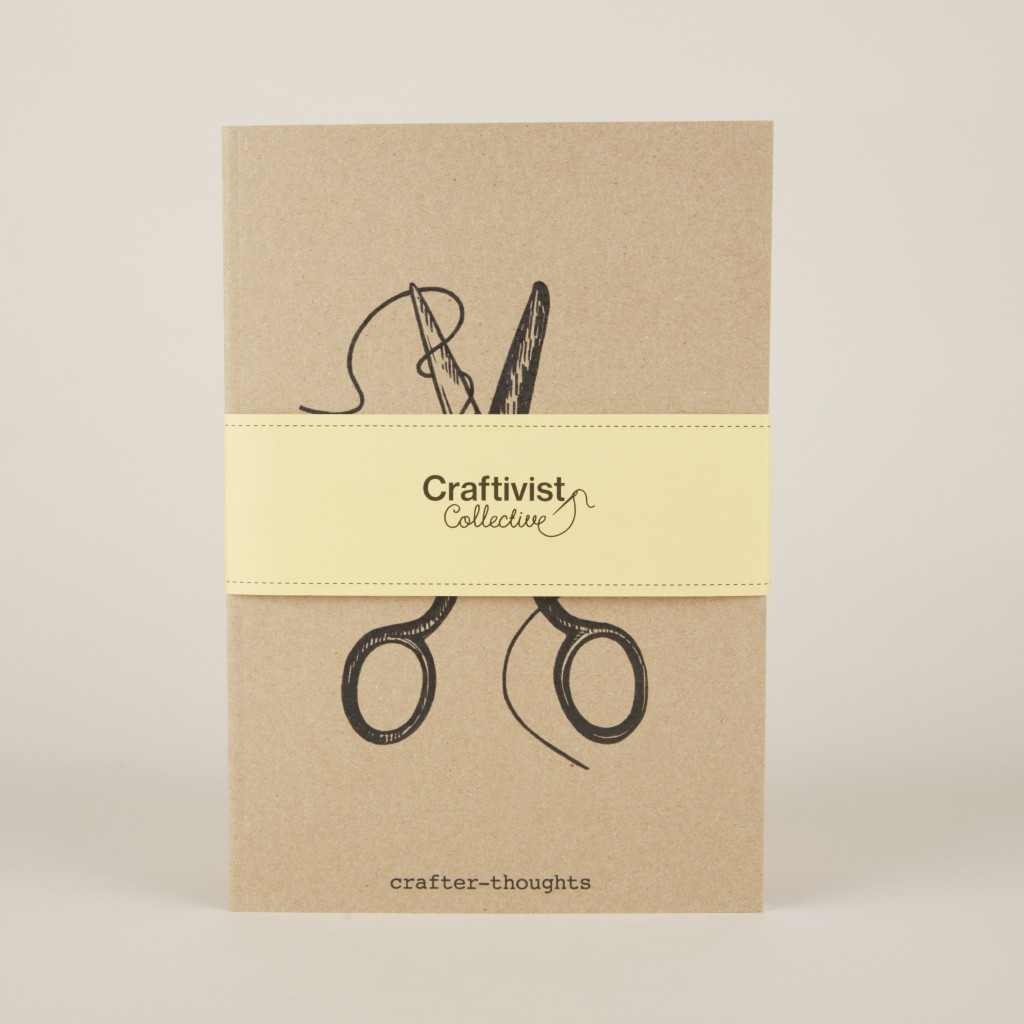 Crafter-thoughts notebook