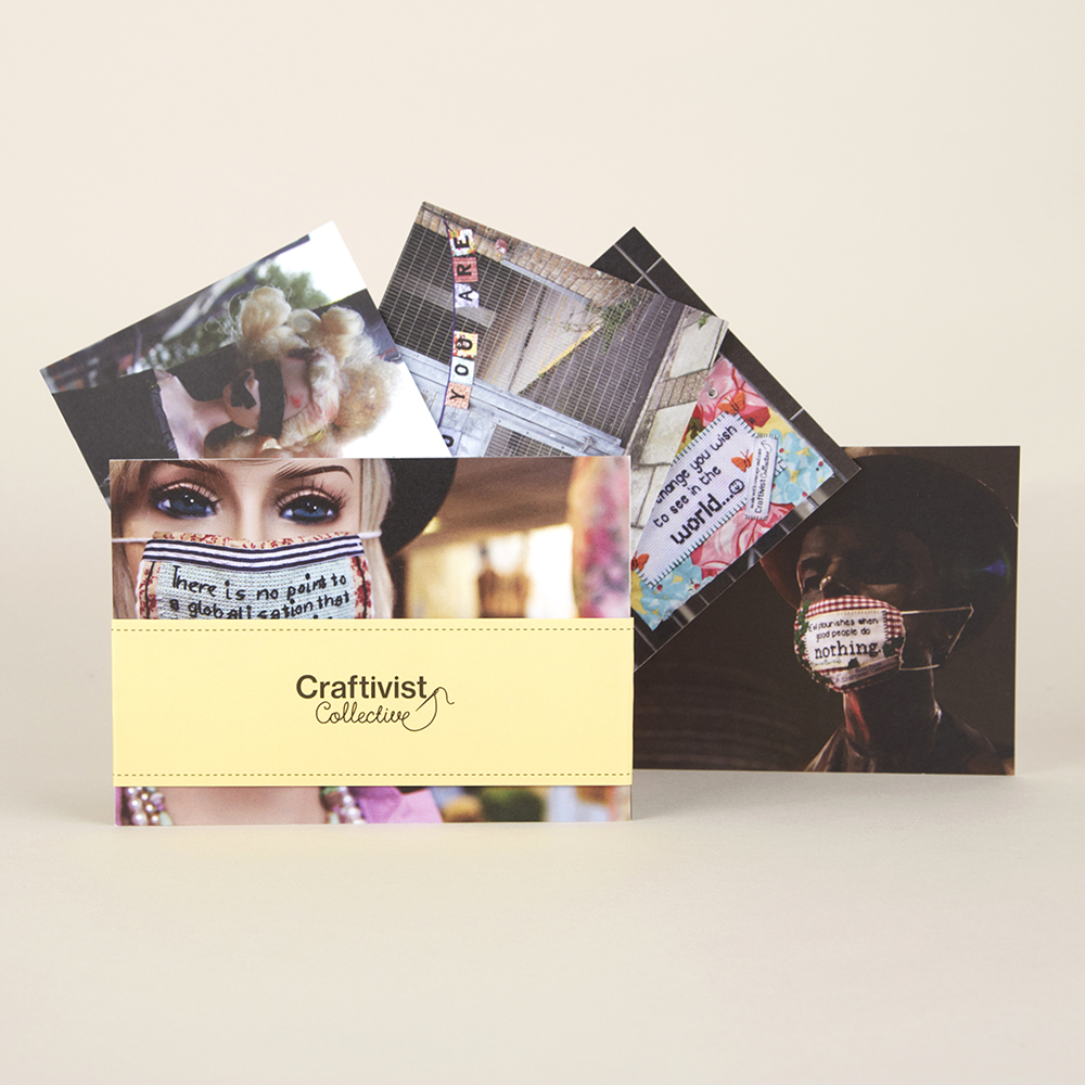 Set of 5 Postcards (varied)