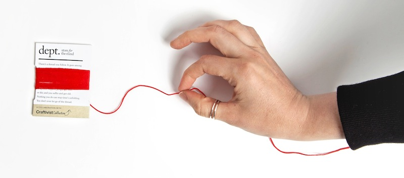 my hand with red thread facebook banner web copy