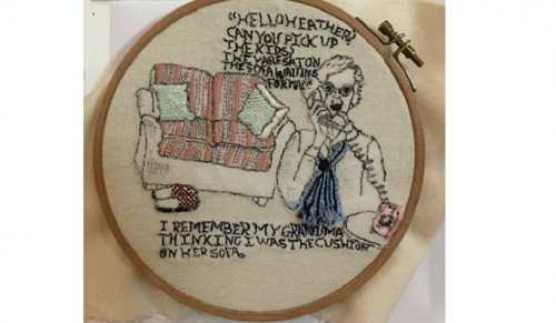 A craftivism project by Lucy Stride, Falmouth University.