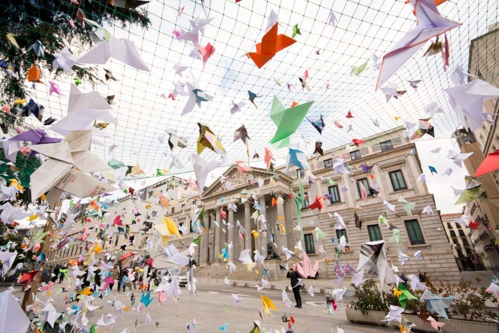 #OrigamiMigration campaign 2016