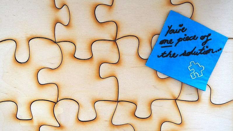 Be a change-maker not just a world-worrier