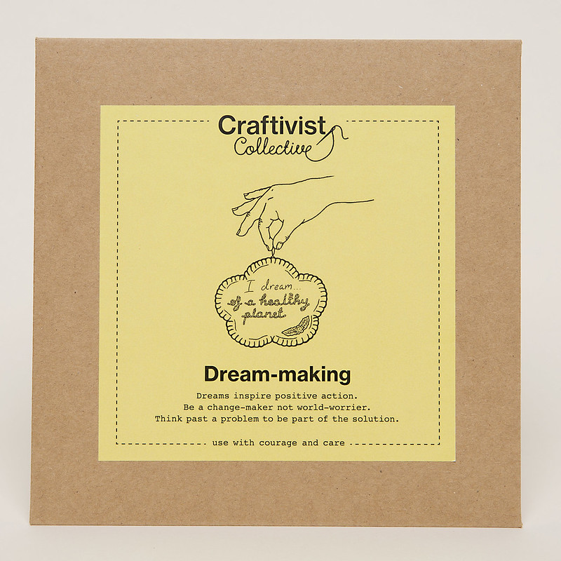 Craftivist Collective dream-making project