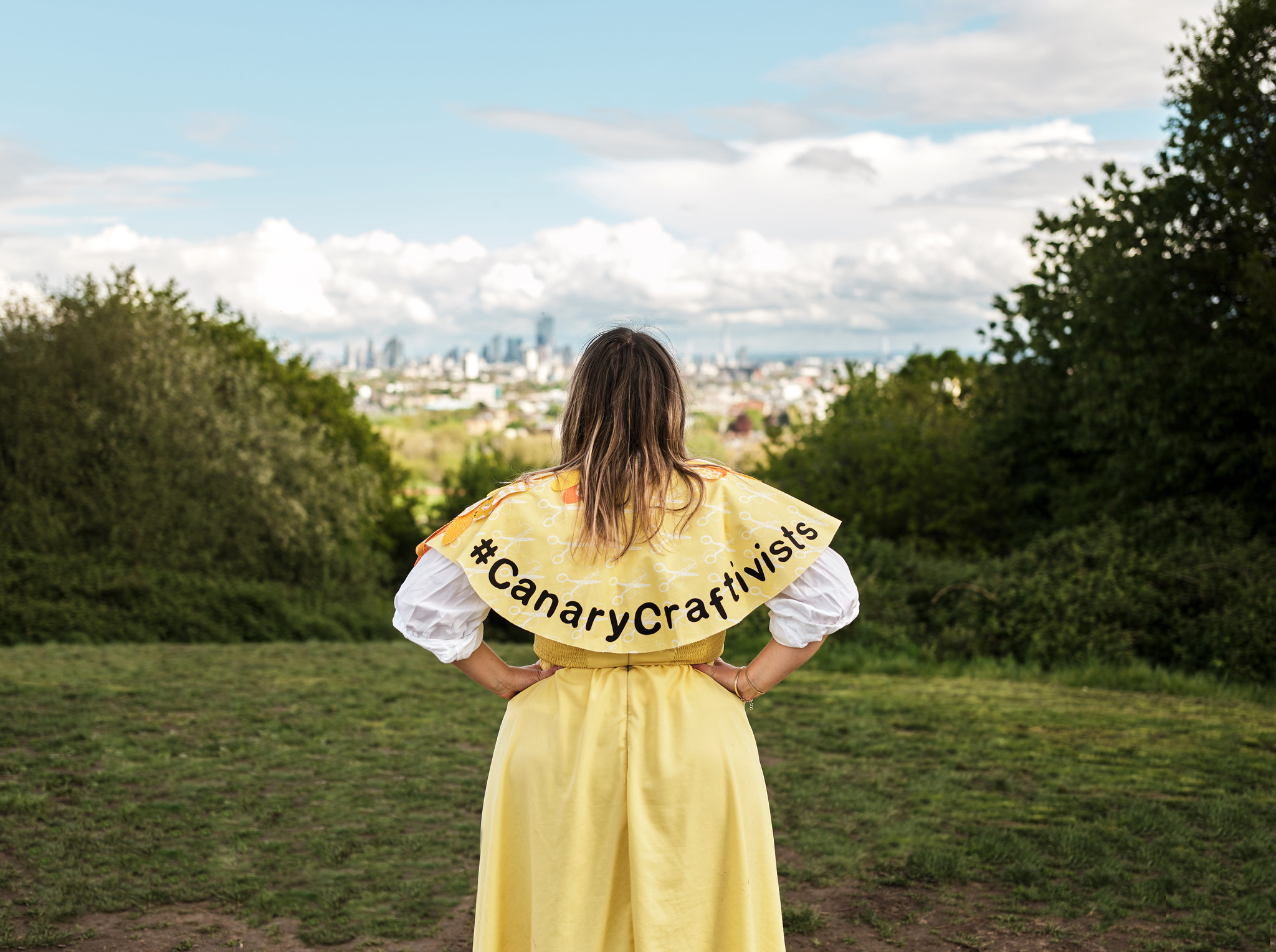 Join Canary Craftivists: a climate campaign for non-activists and crafters